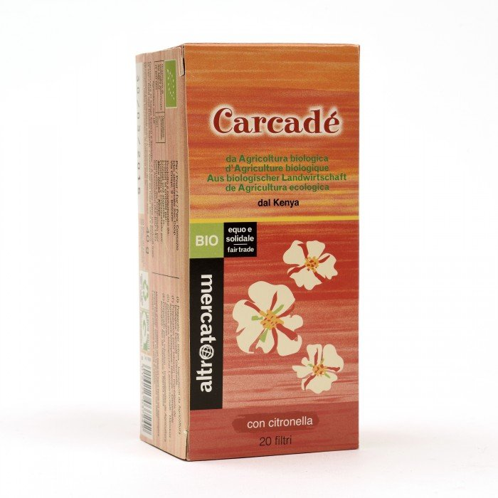 carcadè - 20 filtri bio