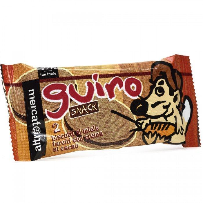 guiro - biscotto al miele con cacao