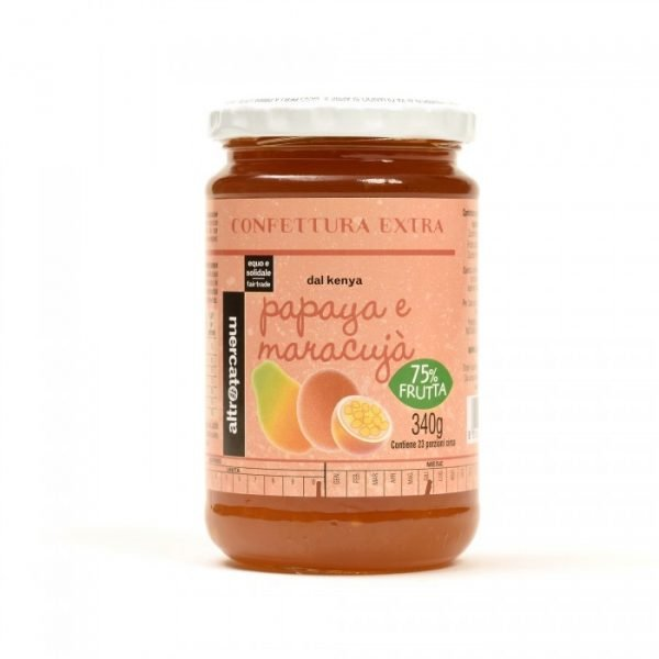 confettura extra di papaya e maracujá