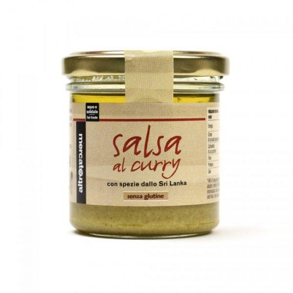 salsa al curry con anacardi