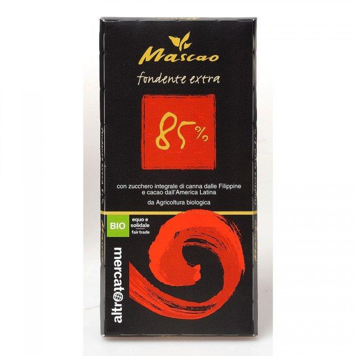 mascao fondente bio 85% di cacao