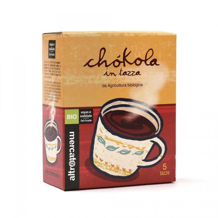 chokola - preparato per cioccolata calda bio