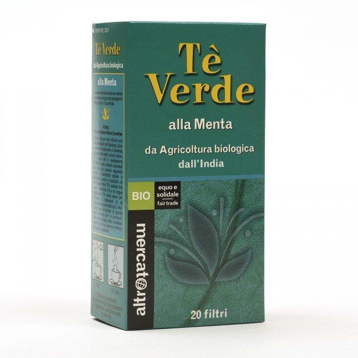 tè verde alla menta bio 20 filtri