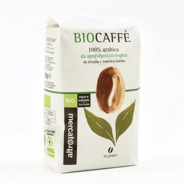 caffè miscela bio 100% arabica in grani