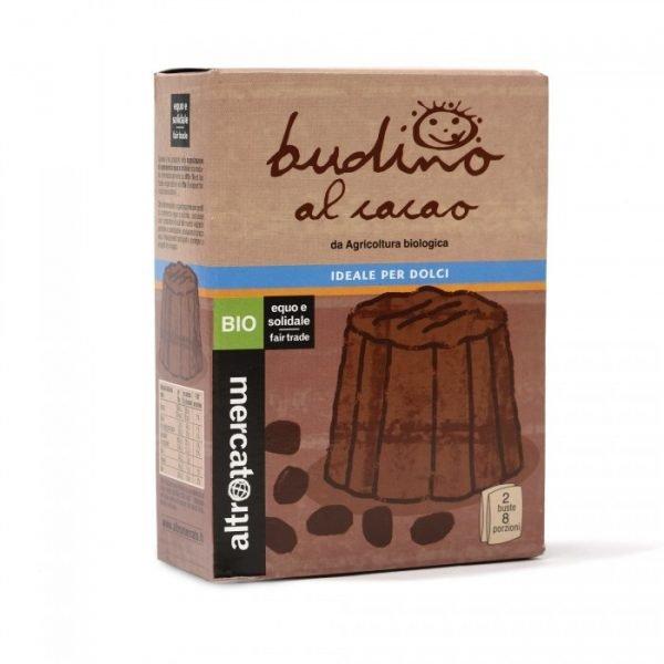 budino al cacao bio - preparato in polvere