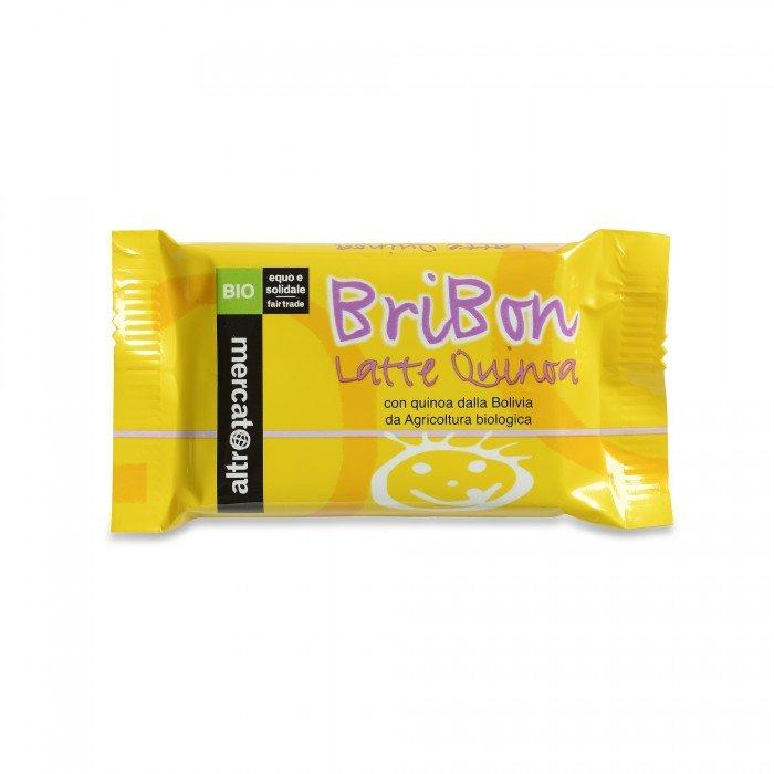 bribon - cioccolato al latte e quinoa bio