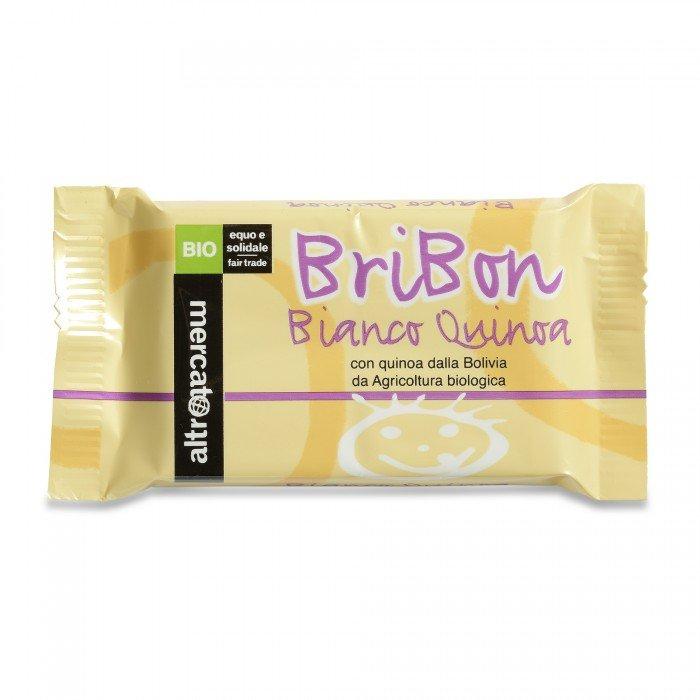 bribon - cioccolato bianco e quinoa bio