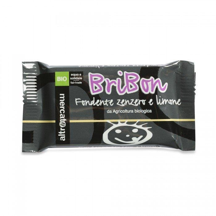 bribon - cioccolato fondente limone zenzero bio