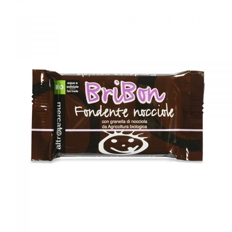 bribon - cioccolato fondente nocciole bio