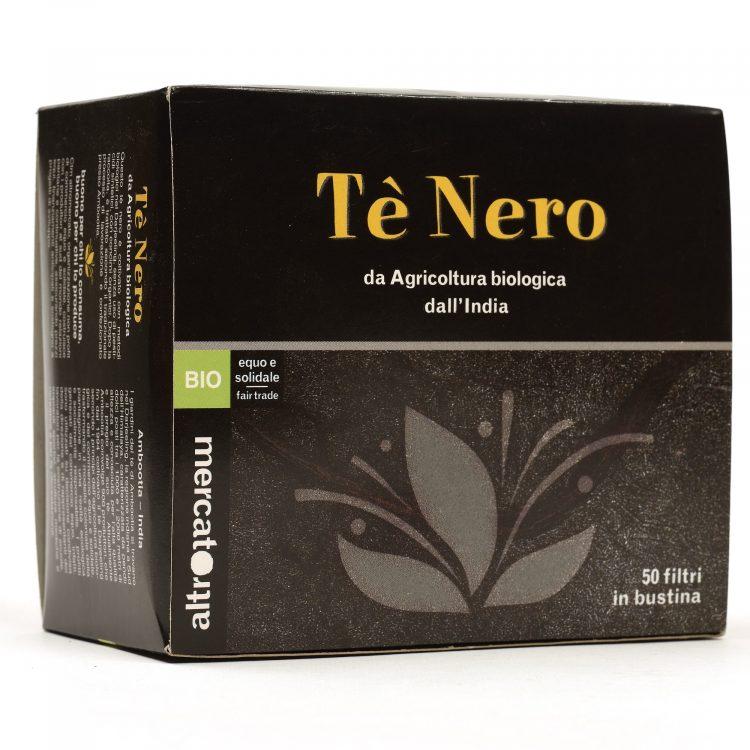 tè nero bio dall'india 50 filtri