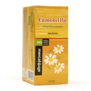 camomilla - 20 filtri bio bolivia
