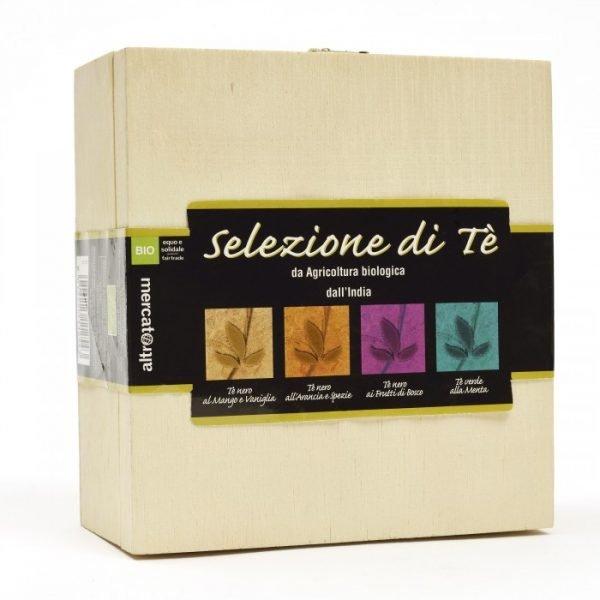 selezione tè aromatizzati in cofanetto bio - 40 filtri