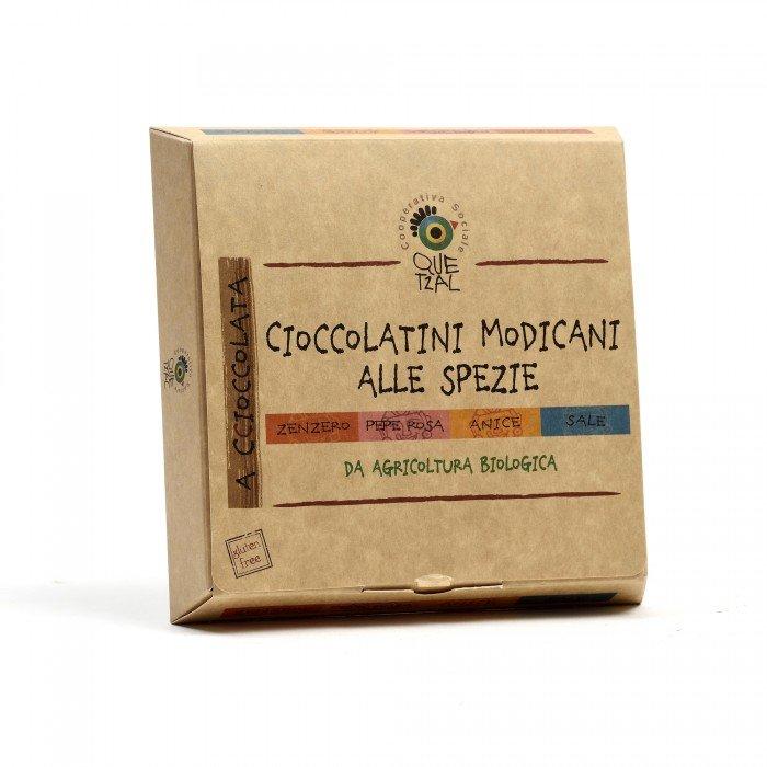 cioccolatini modicani alle spezie 4 gusti in cofanetto
