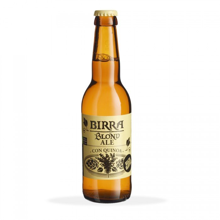 blonde ale - birra chiara alla quinoa - bio - senza glutine