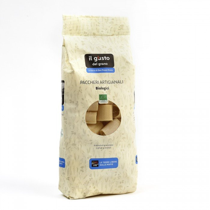 paccheri artigianali libera terra - bio