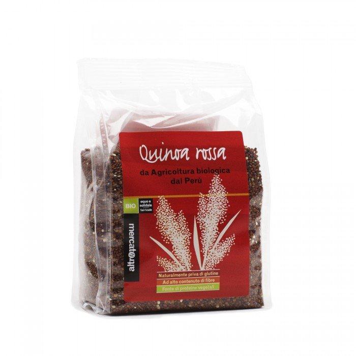 quinoa rossa in grani bio