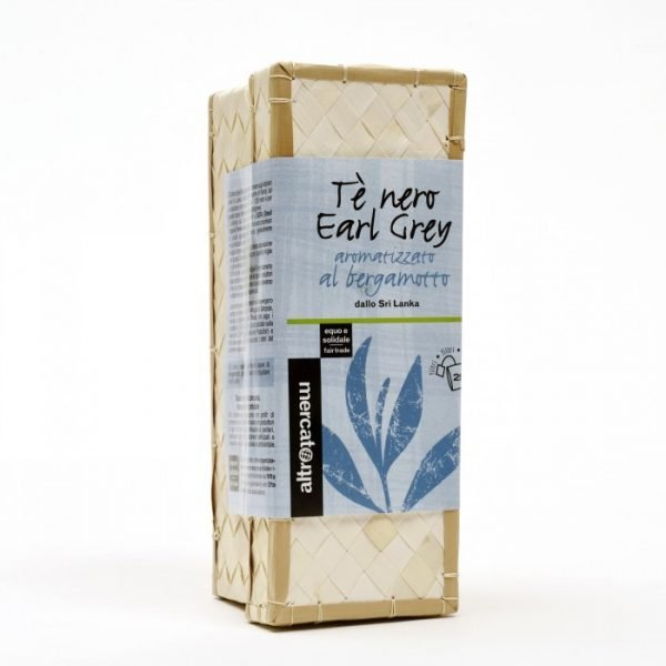 tè nero earl grey in cestino sri lanka 25 filtri