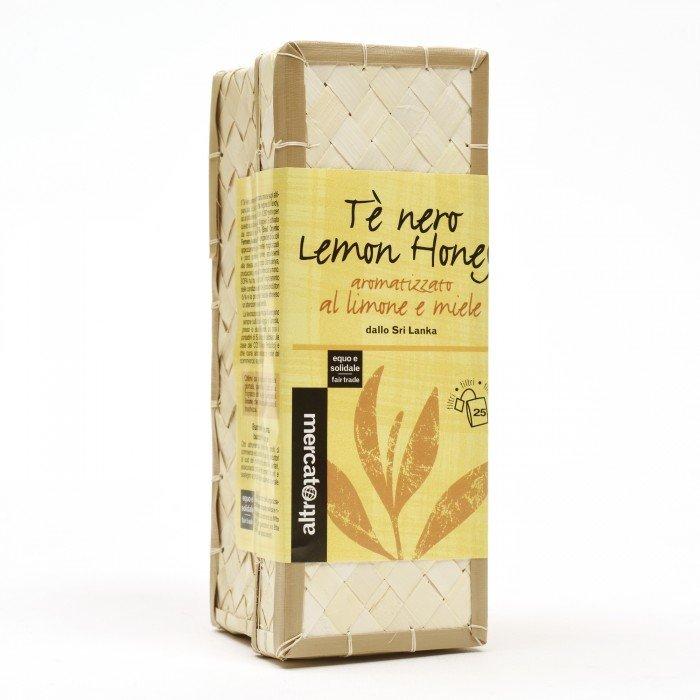 tè nero lemon honey in cestino sri lanka 25 filtri