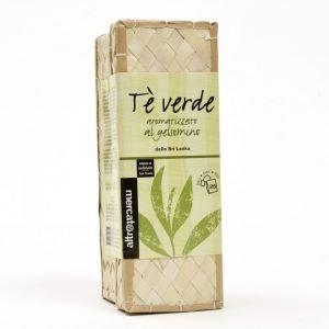 tè verde al gelsomino in cestino sri lanka 25 filtri