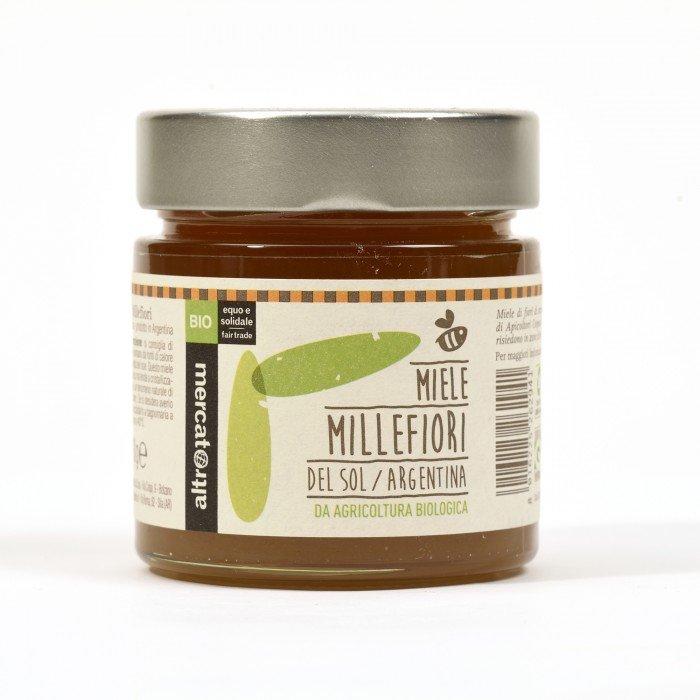 del sol - miele millefiori bio - argentina - 300 g