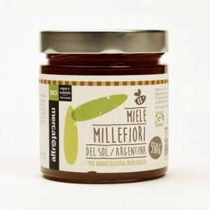 del sol - miele millefiori bio - argentina - 550 g