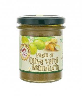 pasta olive verdi e mandorle bio