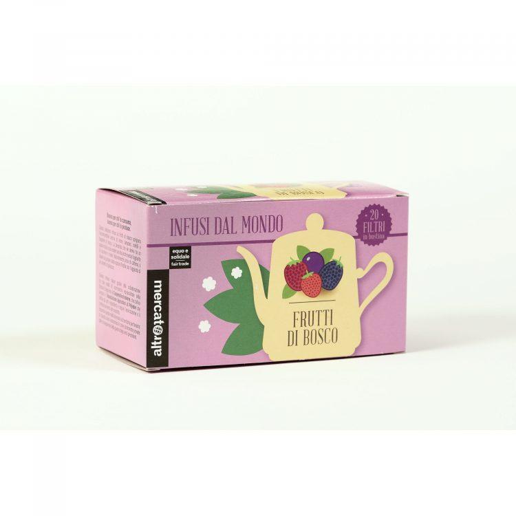 infuso ai frutti di bosco 20 filtri - 40 g