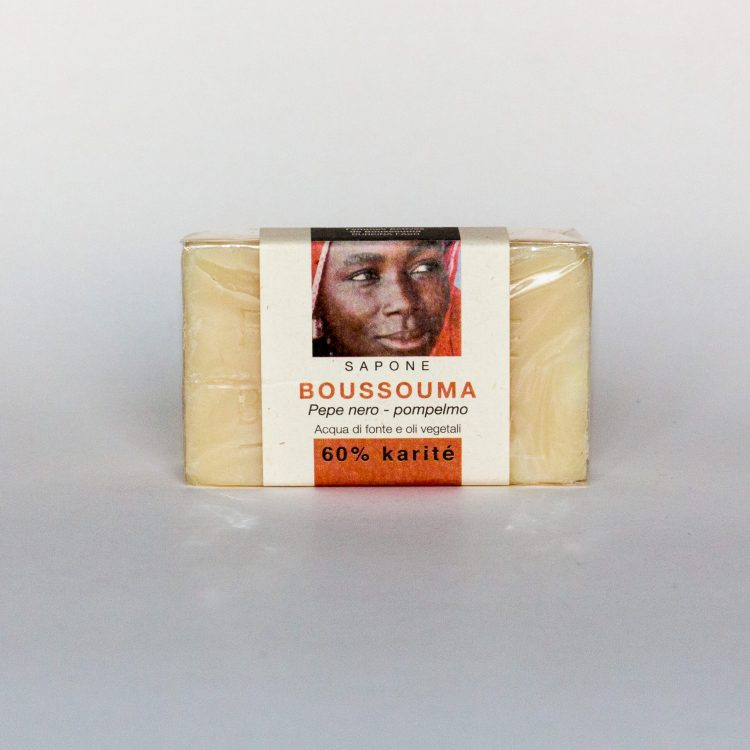 Sapone Karité Boussoma: Pepe Nero Pompelmo