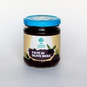 patè di olive nere calabria solidale