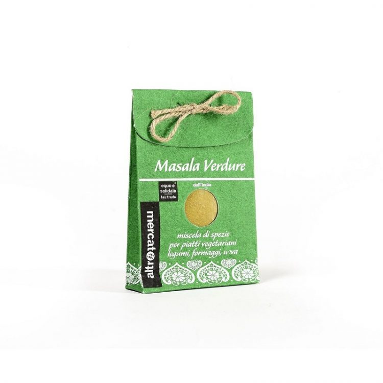 masala indiano - miscela di spezie per verdure