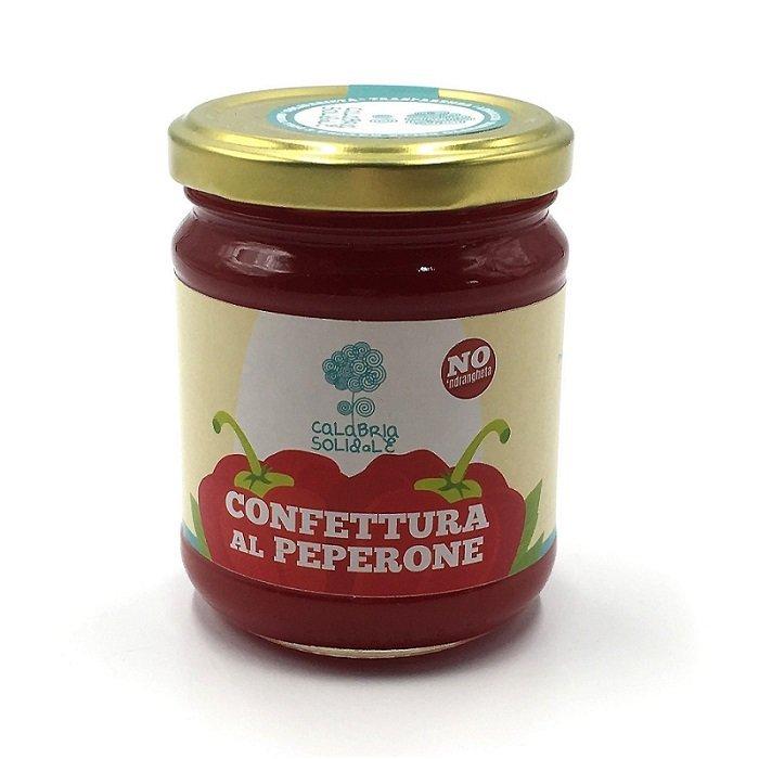 confettura di peperone dolce 320 g calabria solidale