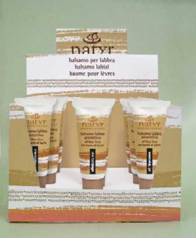 balsamo  labbra - protettivo - aloe vera - 10 ml