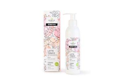 latte tonico detergente - Ibisco - Pelli sensibili - bio - 2