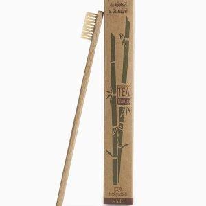 Spazzolino Denti Bambù setole medie