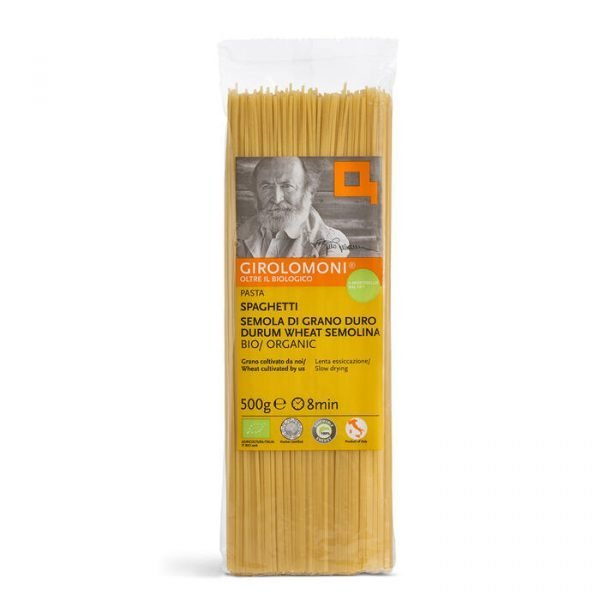 spaghetti di semola Bio - Girolomoni 500g