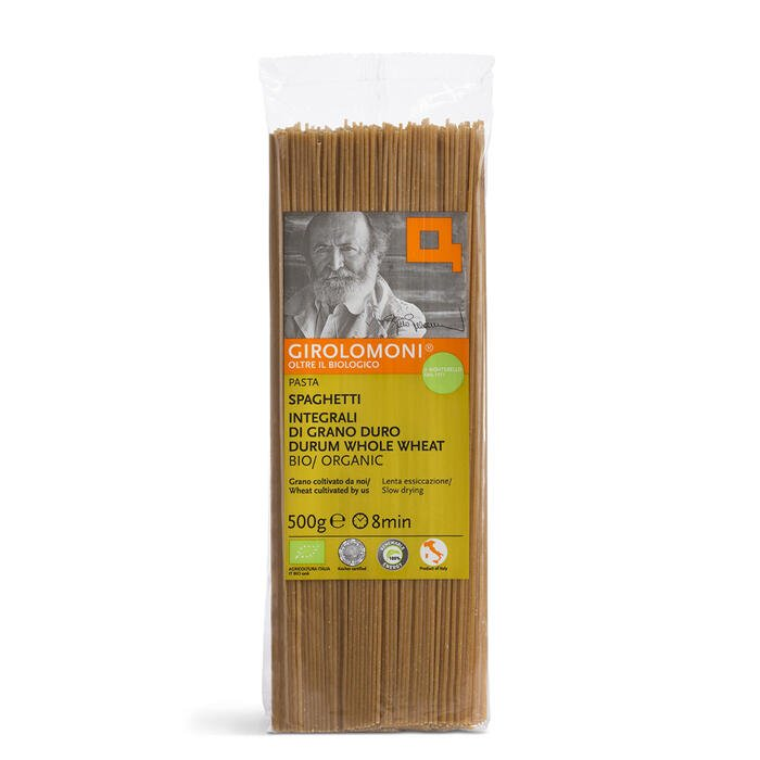 spaghetti integrali di semola Bio - Girolomoni 500g