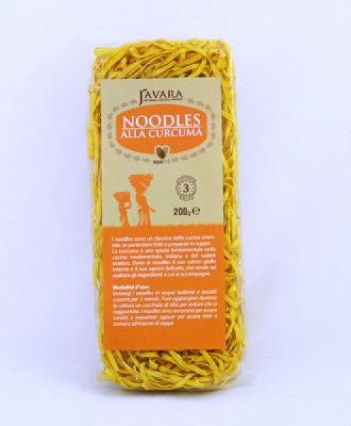 noodles alla curcuma