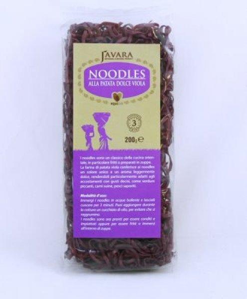 noodles alla patata viola