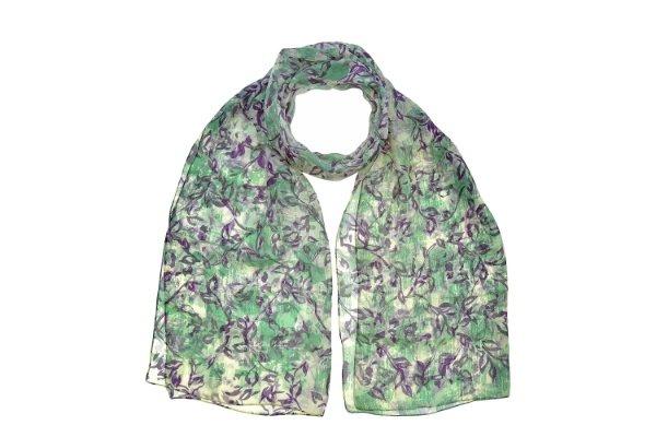 Stola Jasmine seta purple,lily&sage