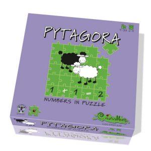 Pytagora - numeri in puzzle