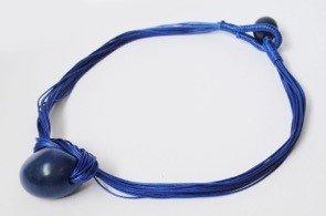 Collana Fuerte blu tagua