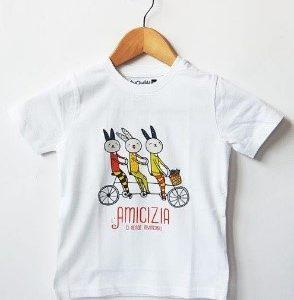 T-shirt bimb* Invincibili 7/8 anni bianca
