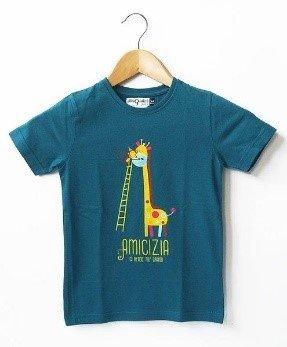 T-shirt bimb* Grandi 5/6 anni blu cobalto