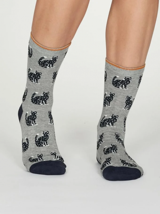 Kitty calze donna mid grey marle