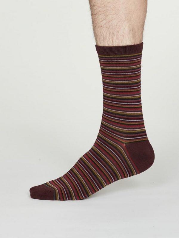 William calze uomo burgundy