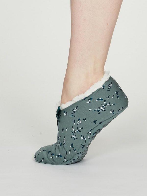 Pantofole Enid L-XL sagegreen