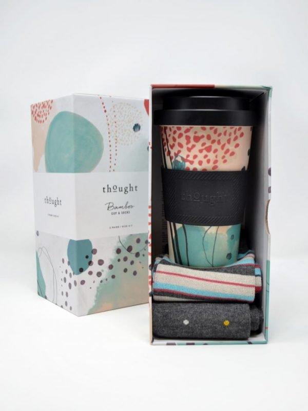 Arrah tazza e calze donna in bamboo giftbox