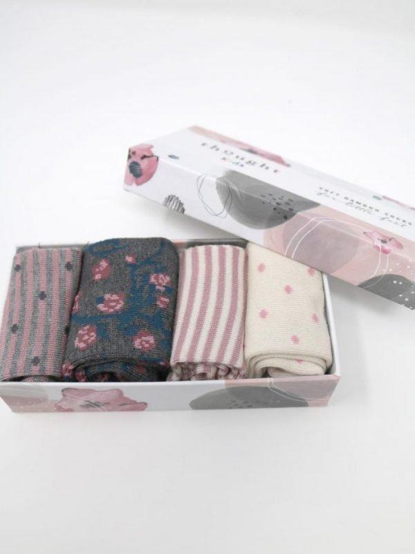 Calze bimbi Rose 0-12 mesi giftbox