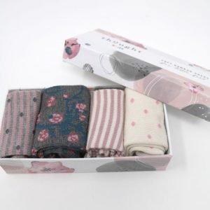 Calze bimbi Rose 12-24 mesi giftbox