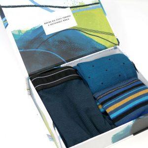 Garman boxer XL +2paia calze uomo giftbox